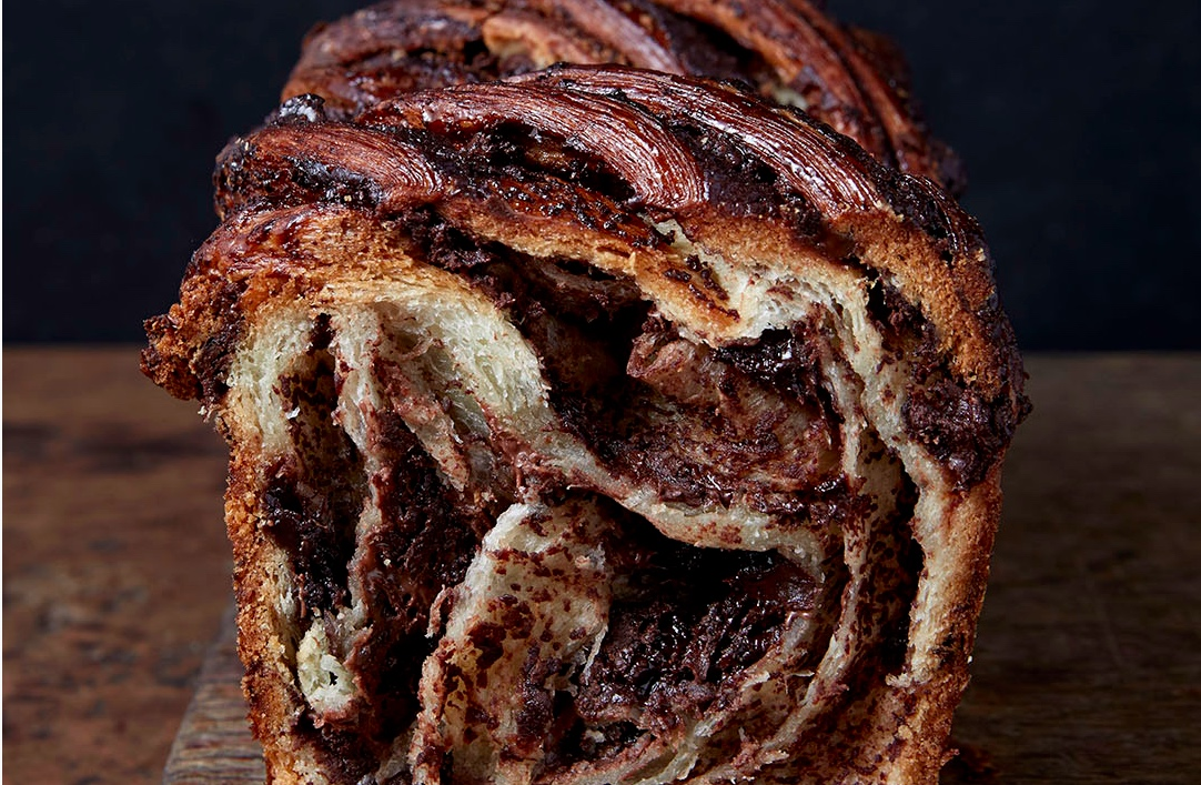 Breads Bakery, Union Square, NYC — Chocolate Babka