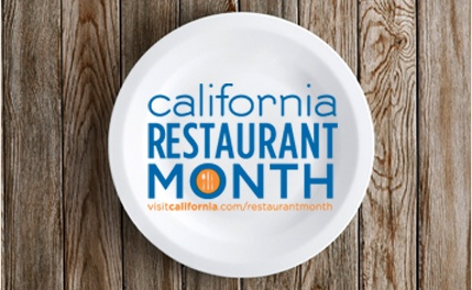 Courtesy of Visit California, Learn morn about California Restaurant Month.