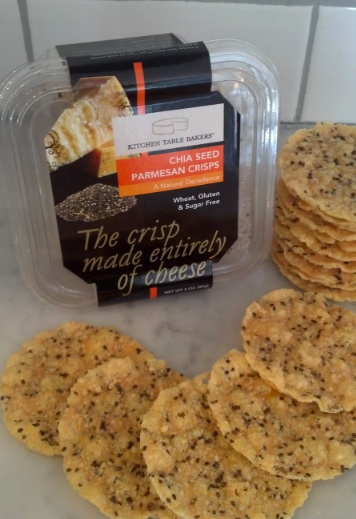 Food And Product Reviews Kitchen Table Bakers Aged Parmesan Crisps Food Blog Bite Of The Best