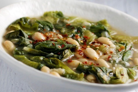 Escarole + Escarole and White Bean Soup