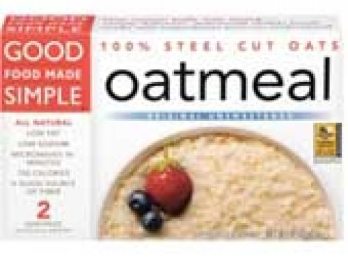 Good Food Made Simple Original Unsweetened 100% Steel Cut Oatmeal