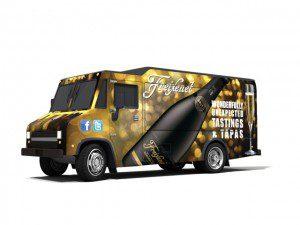 Freixenet Tastings & Tapas Truck (angled)