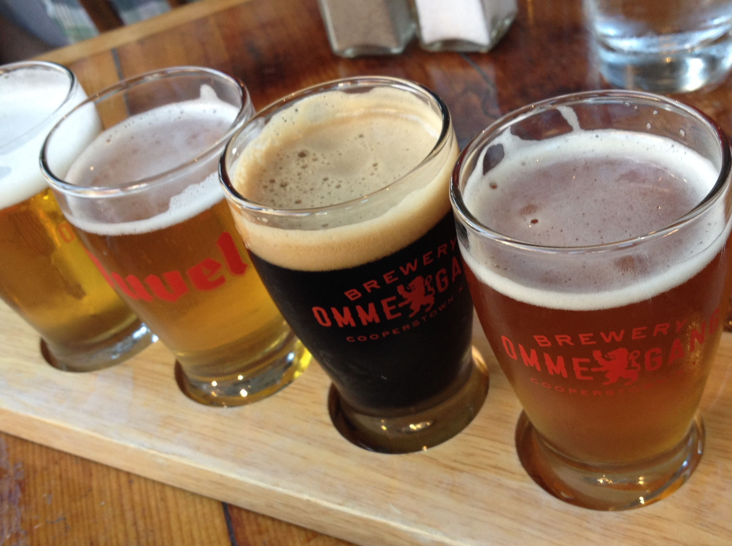 Cooper 39 s craft kitchen east village nyc food and for Coopers craft bourbon review