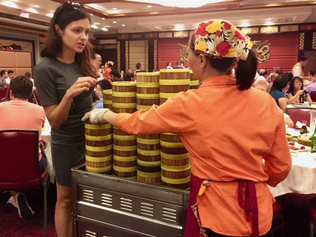 A Dim Sum Hall Jing Fong Restaurant Chinatown Nyc Bite