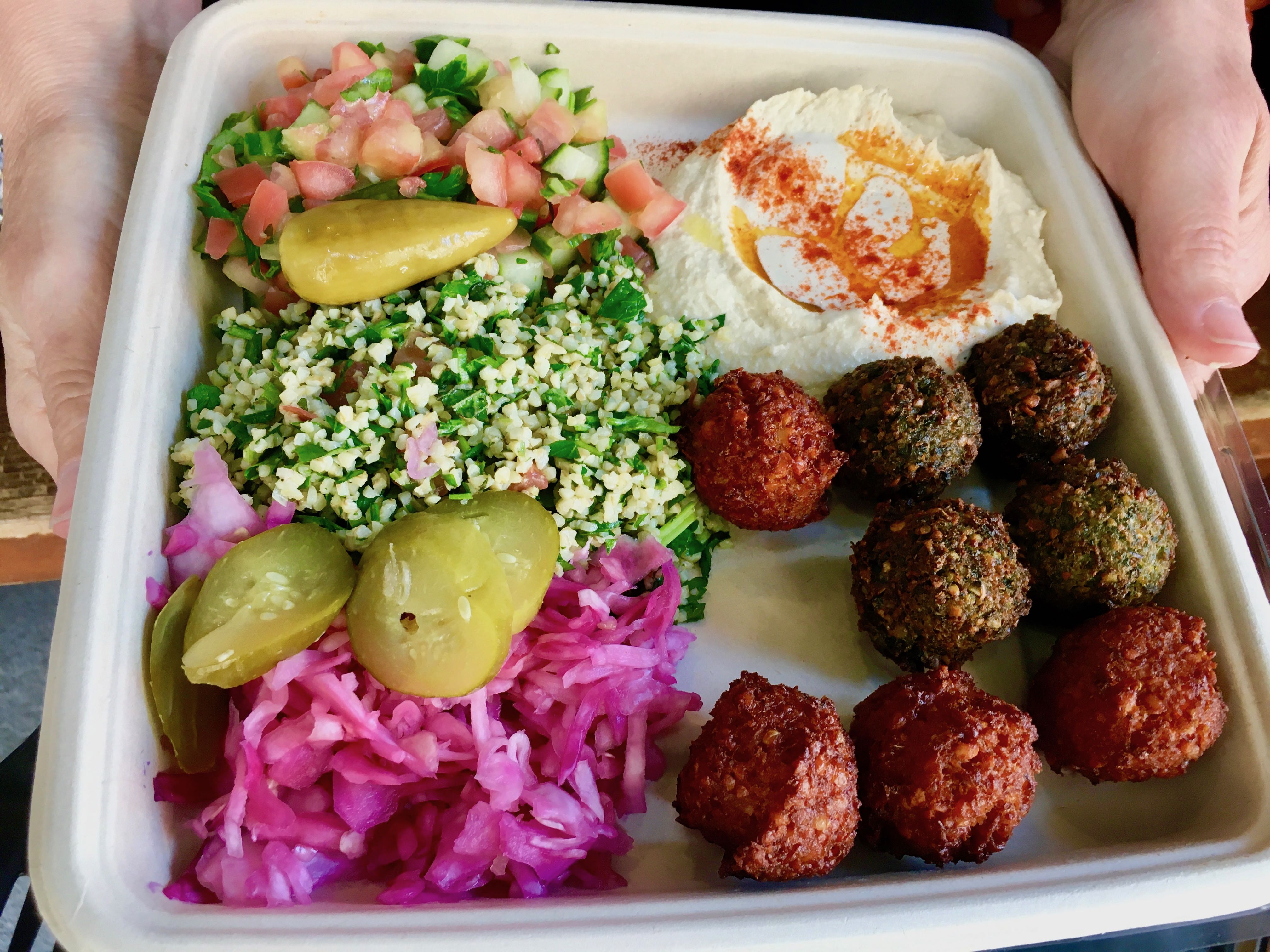 A Quick Stop for Falafel at Taïm West Village, NYC