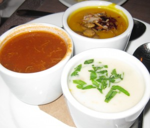 Trio of Chowders on Bite of the Best