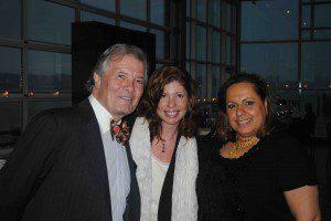 Jacques Pepin, his daughter Claudine and Rita Jammet