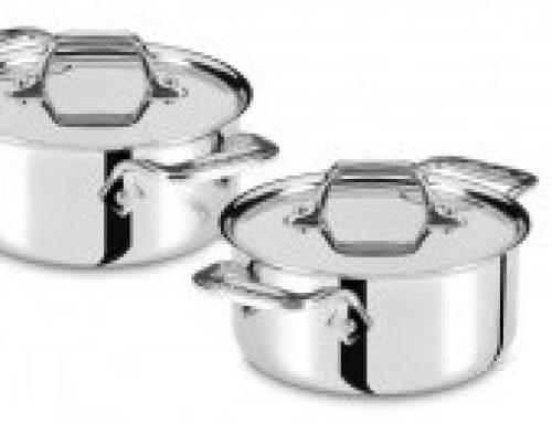 Win All-Clad Mini Stainless Steel Cocottes