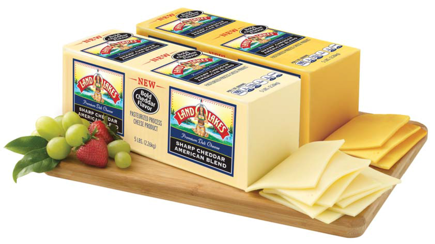 Land O'Lakes Sharp Cheddar American Blend - Food and Product Reviews