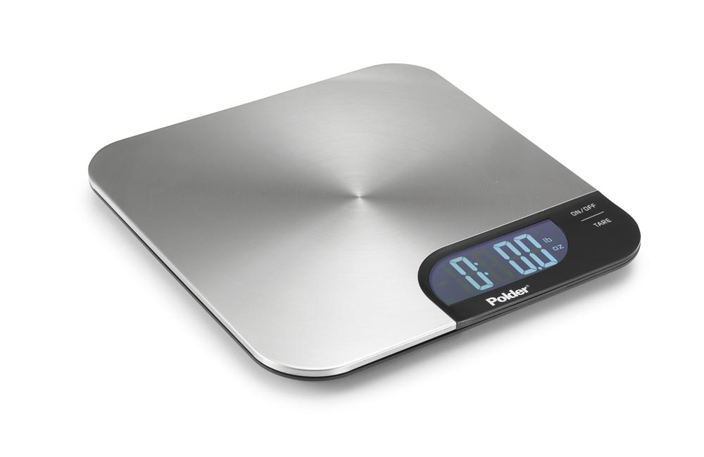Charmant Polder Slimmer Stainless Digital Kitchen Scale