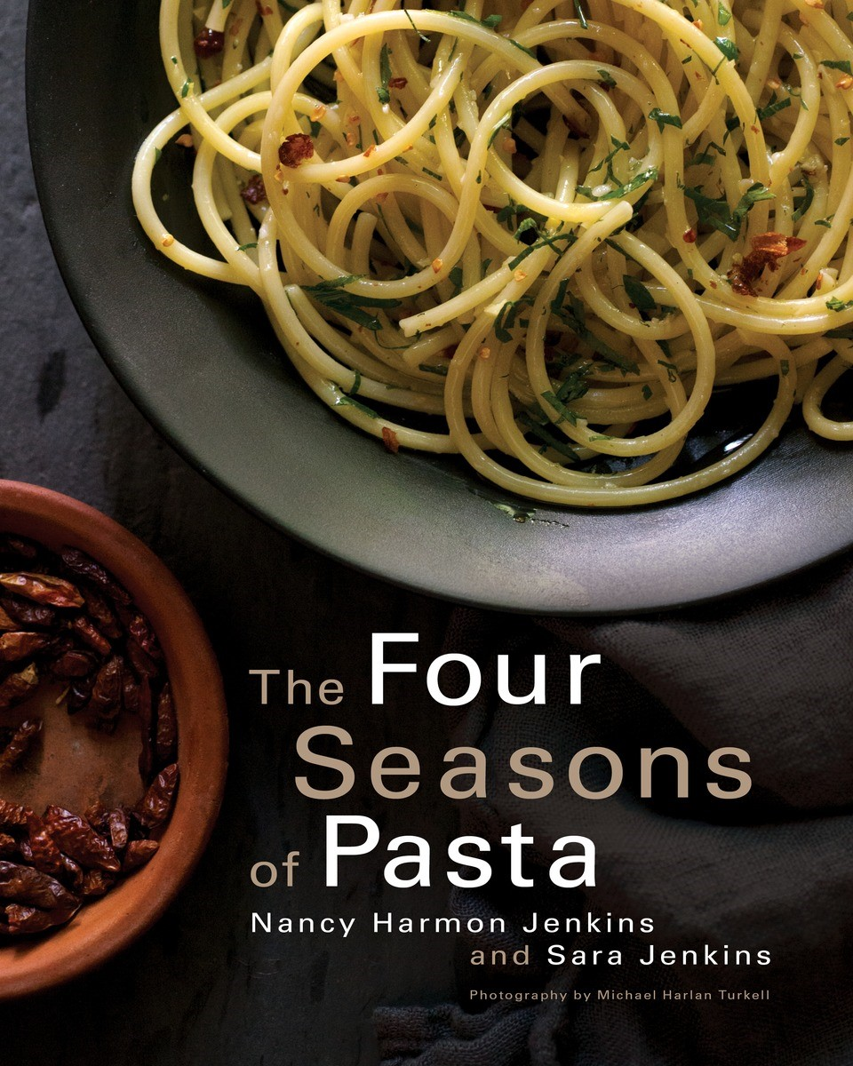 Pasta with Chickpeas, Pancetta, Garlic, and Escarole from The Four Seasons of Pasta Cookbook
