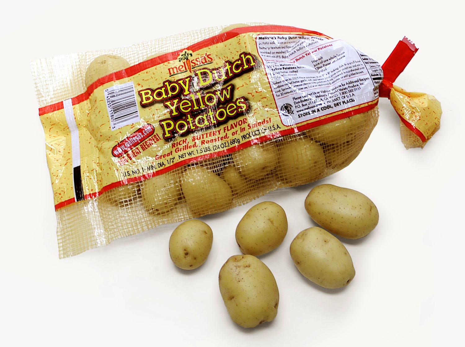 Food writer and food reviews recipes for melissa 39 s baby dutch yellow potatoes bite of the - What to do with potatoes ...