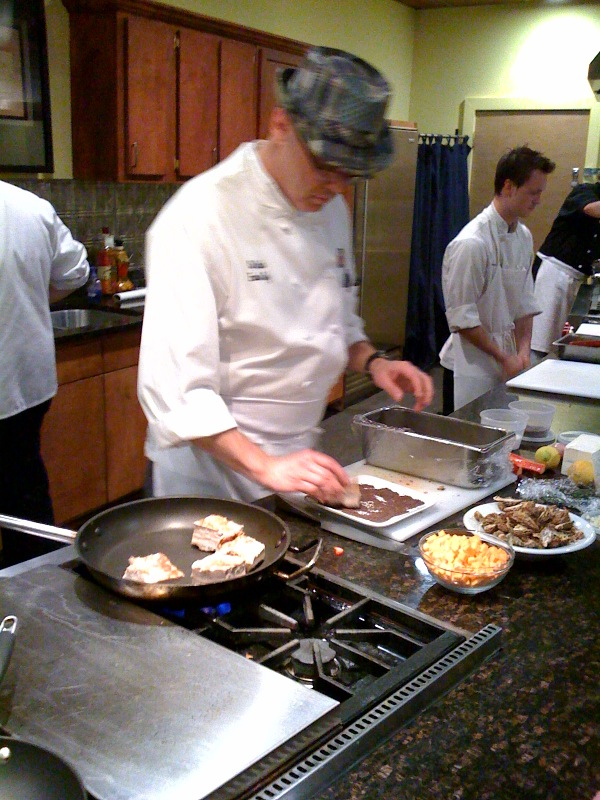 Iron chef atlanta south city kitchen vs shaun 39 s bite for Allez cuisine iron chef