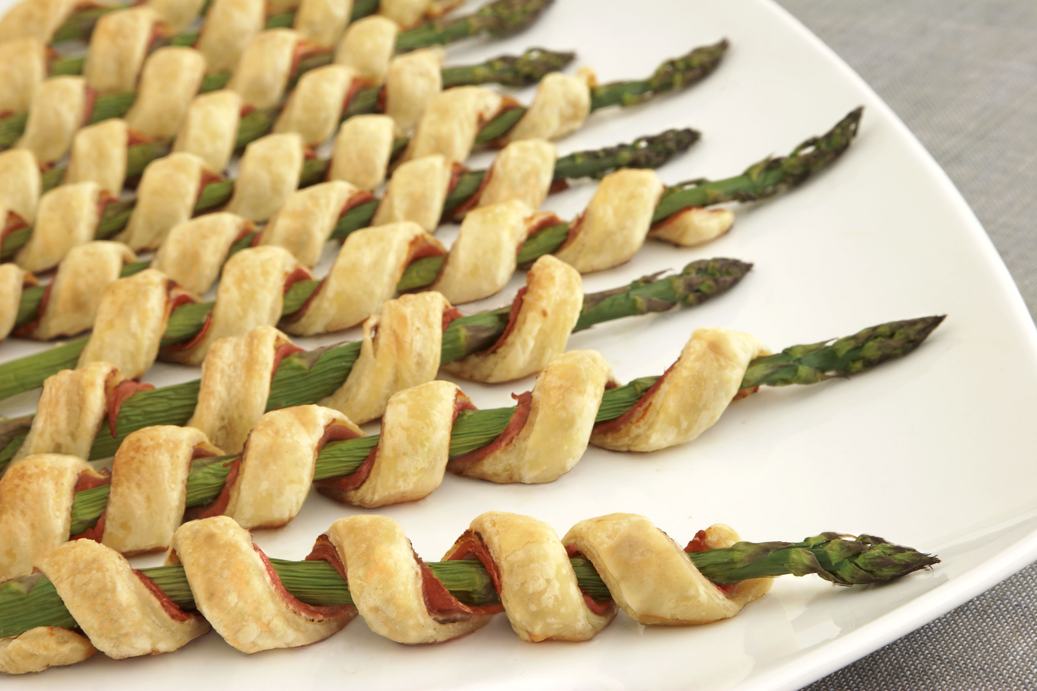 Food and product reviews and recipes prosciutto for Pastry canape fillings