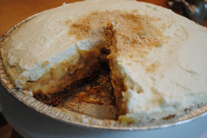 Anne Thornton's Salted Banana Pudding Pie